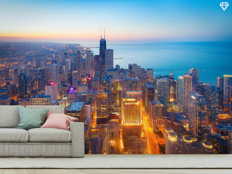 Photo Wallpaper The Magnificent Mile