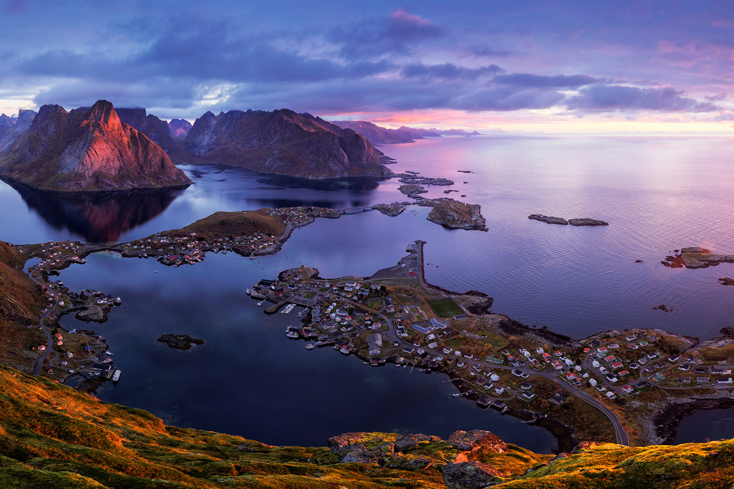 Papier peint photo Lofoten Sunrise