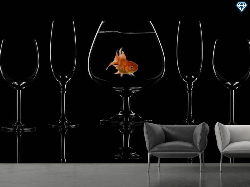 Papier peint photo Glass Fish