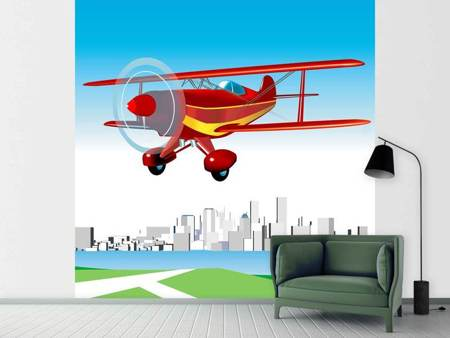 Photo Wallpaper Flying Aircraft