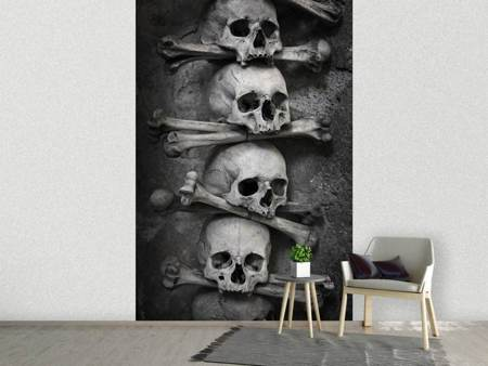 Photo Wallpaper Skulls