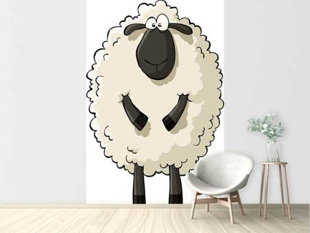 Photo Wallpaper The Sheep