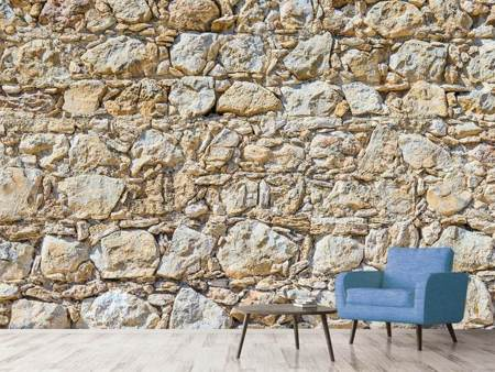 Photo Wallpaper Sandstone Wall