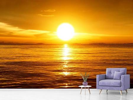 Photo Wallpaper Fantastic Sunset