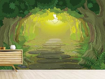 Photo Wallpaper Fairy Tales Forest