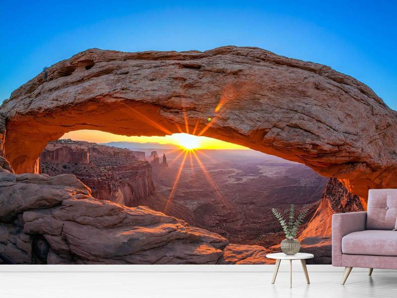 Photo Wallpaper Sunset At Mesa Arch