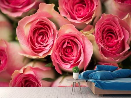 Photo Wallpaper Rose Love
