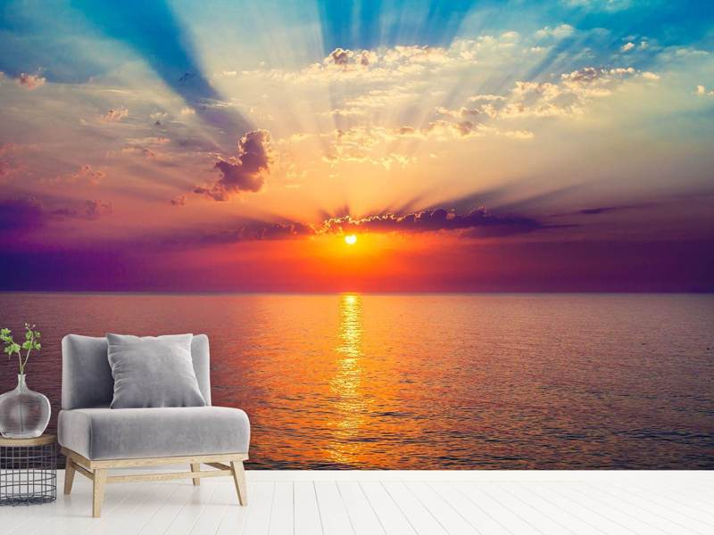 Photo Wallpaper Mystic Sunrise
