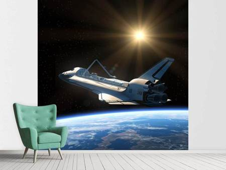 Photo Wallpaper The Spaceship