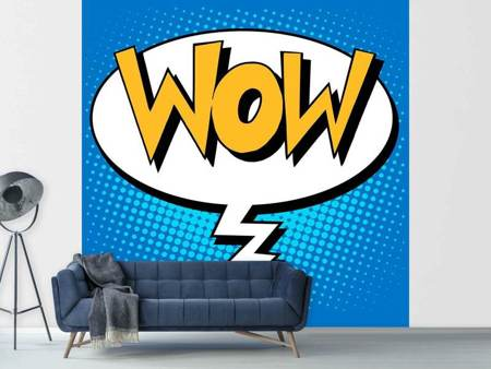 Photo Wallpaper Pop Art Speech Bubble