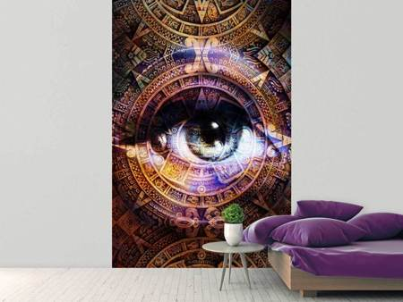 Photo Wallpaper Psychedelic Eye